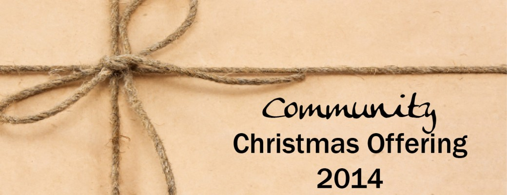Community Christmas Offering 2014